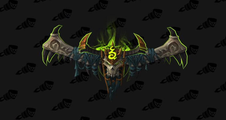 wow legion Havoc Demon hunter hidden artifact weapon appearance