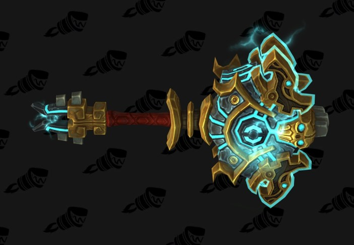 wow legion enhancement shaman hidden artifact weapon appearance