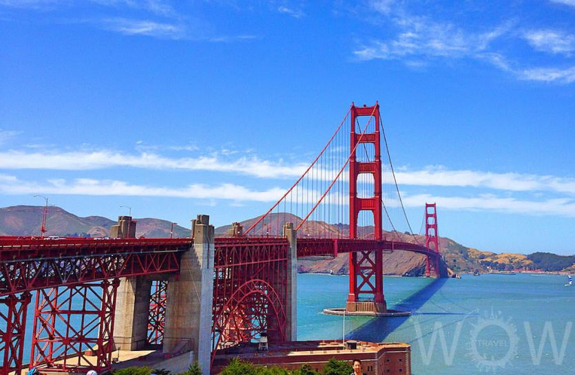 Golden Gate Bridge, San Francisco -by WOW Travel
