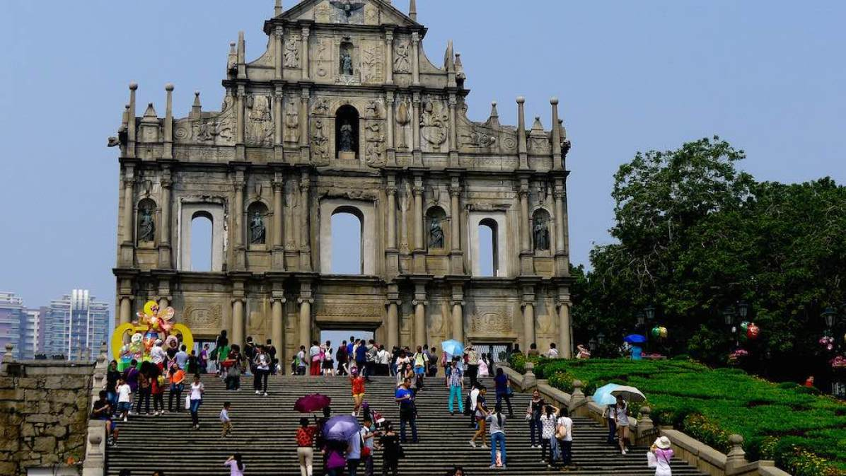 Ruins of St. Paul, Macau - by jareed:Flickr
