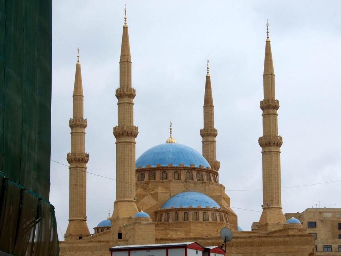 Al-Omari Mosque, Beirut - by delayed gratification:Flickr