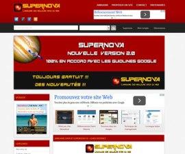 Découvrez www.supernova-annuaire.com, l'annuaire qui veut du bien aux sites propulsés sous WordPress.