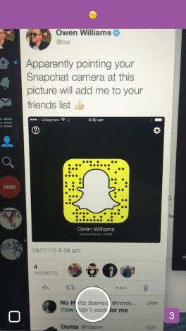 snapchat celebrity codes