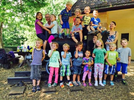 Wir hatten einen tollen Tag im Tiergarten.