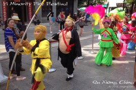 The Monkey King is a national folk hero (the 'pig man' is one of his sidekicks).