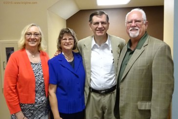 Long-time friends Steve and Darlene invited us to Springfield for this encouraging time of renewal.
