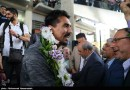 A Heroes Welcome For Seyed Mousavi & Iran