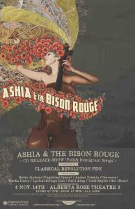 ASHIA Bison PDX 11x17 Poster