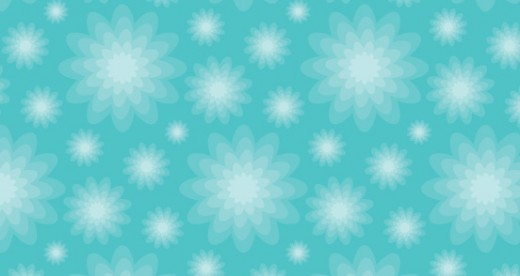 Free Repeat Patterns – Blue Floral 2