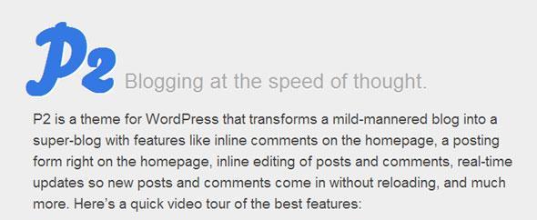 P2-WordPress-Theme