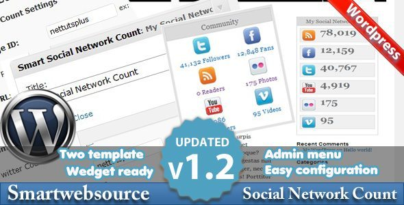 Smart Social Network WordPress Plugin