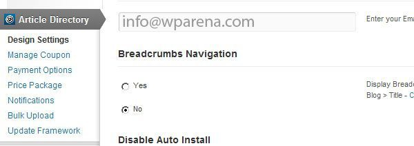 Breadcrumbs-Navigation