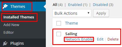 Enable Sailing - hotel wordpress theme