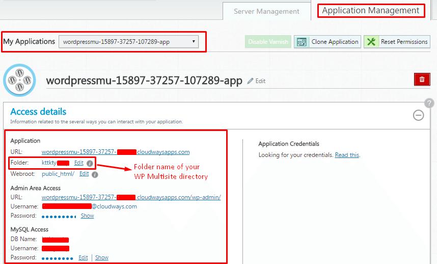 WordPress Multisite Folder Name
