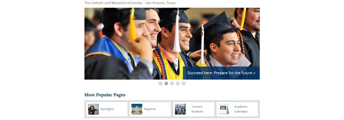 St. Mary's University website