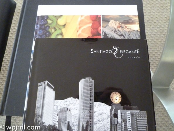 Grand Hyatt Santiago Executive Suite Terrace Magazines