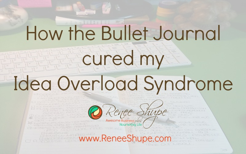 How the Bullet Journal cured Idea Overload Syndrome