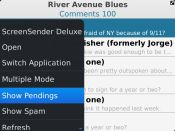 Comment Filtering In WordPress For BlackBerry App