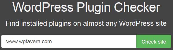 WordPress Plugin Checker