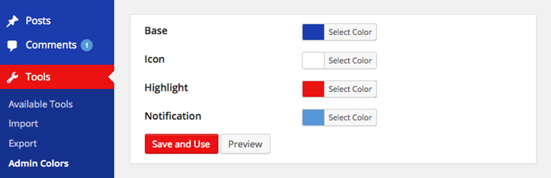 Admin Color Schemer: The Easiest Way to Customize WordPress Admin Colors