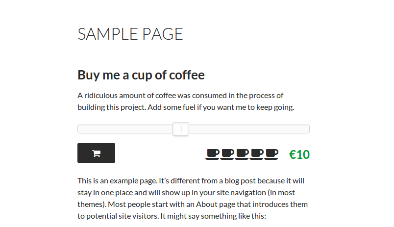 sample-donation-page