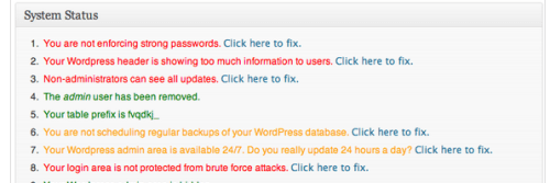 Better WordPress Security Scan
