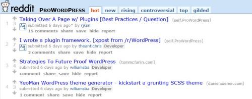 Pro WordPress Subreddit
