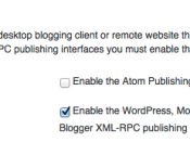 XML RPC Settings In WordPress