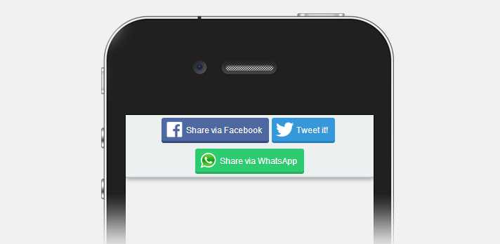 Mobile ShareBar Adds a WhatsApp Sharing Button to WordPress