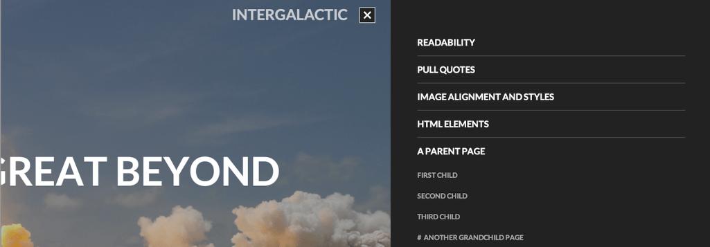 intergalactic-slide-out-menu