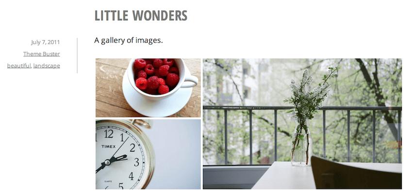 Minnow: A Free Minimalist Blogging Theme from Automattic