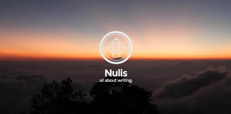 Nulis: A Free Minimalist WordPress Theme with a Unique Twist
