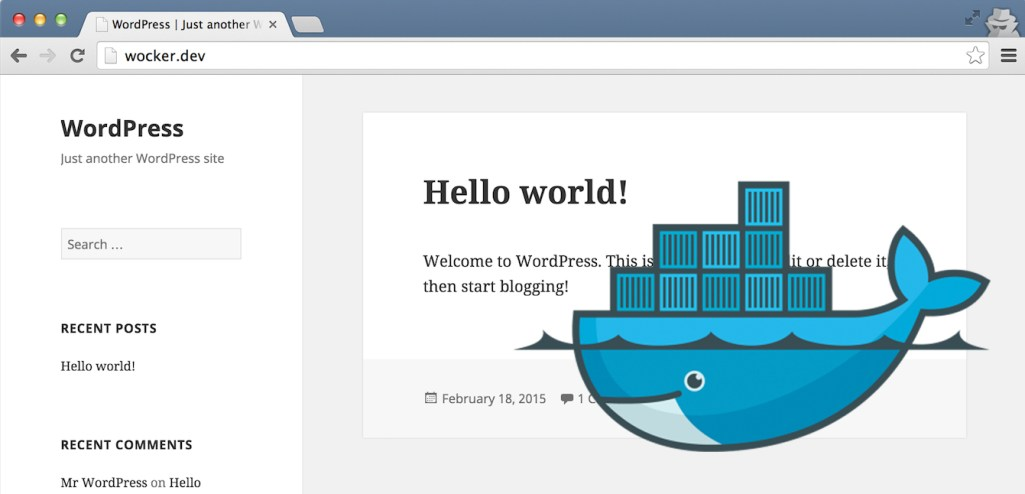 Wocker: Create a Docker-Based WordPress Development Environment in 3 Seconds