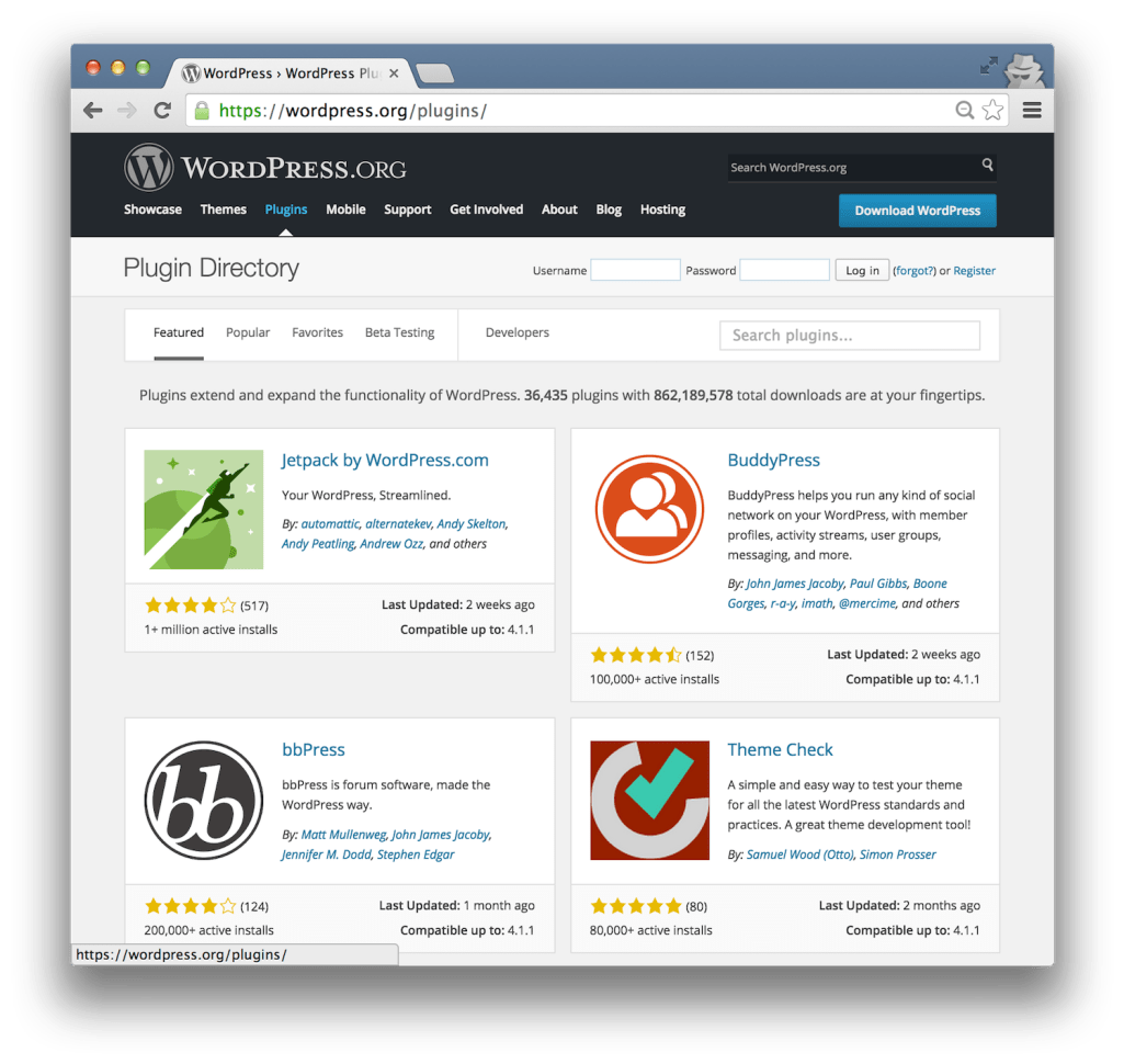 wordpress-plugin-directory
