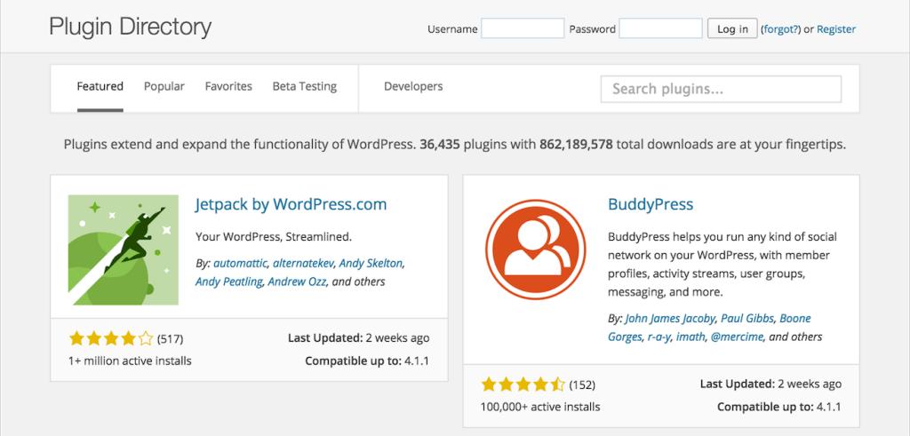 WordPress Plugin Directory Launches New Design