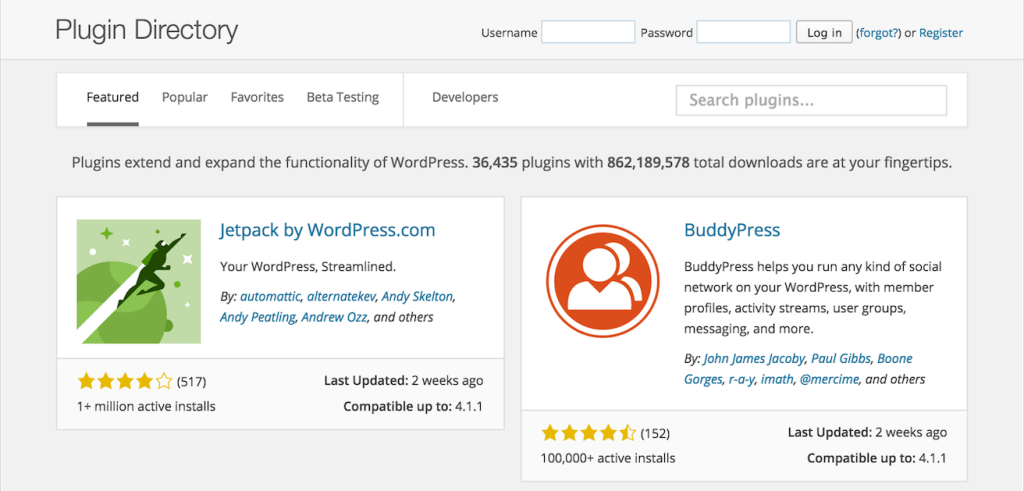 WordPress Plugin Directory Launches New Design