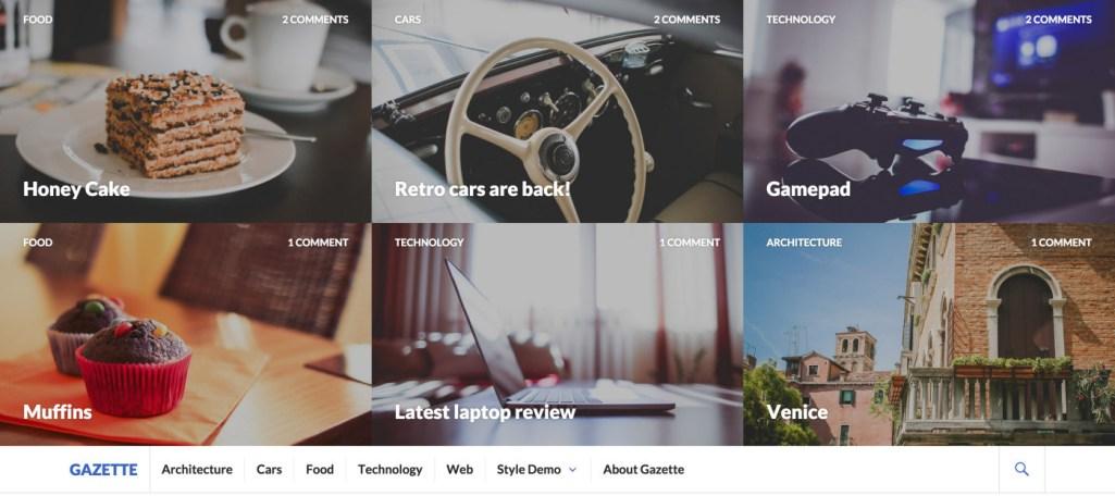 Gazette: A Free WordPress Magazine Theme from Automattic