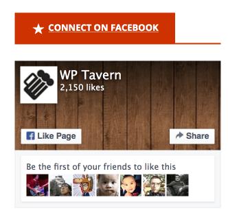 New Jetpack Facebook Widget is Streamlined