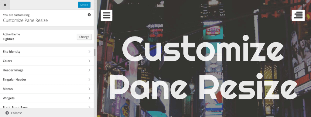 New WordPress Feature Plugin Lets Users Resize the Customizer Pane