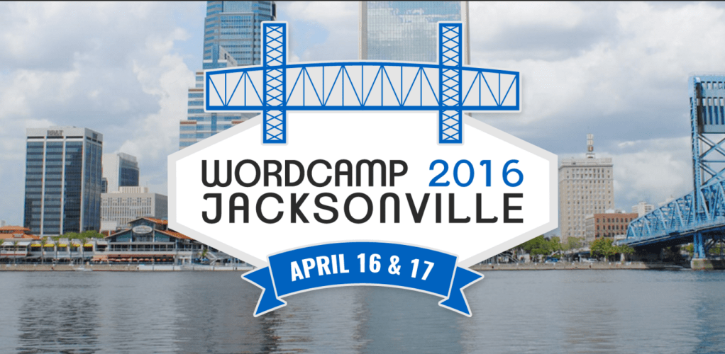 Tickets for WordCamp Jacksonville 2016 Now on Sale