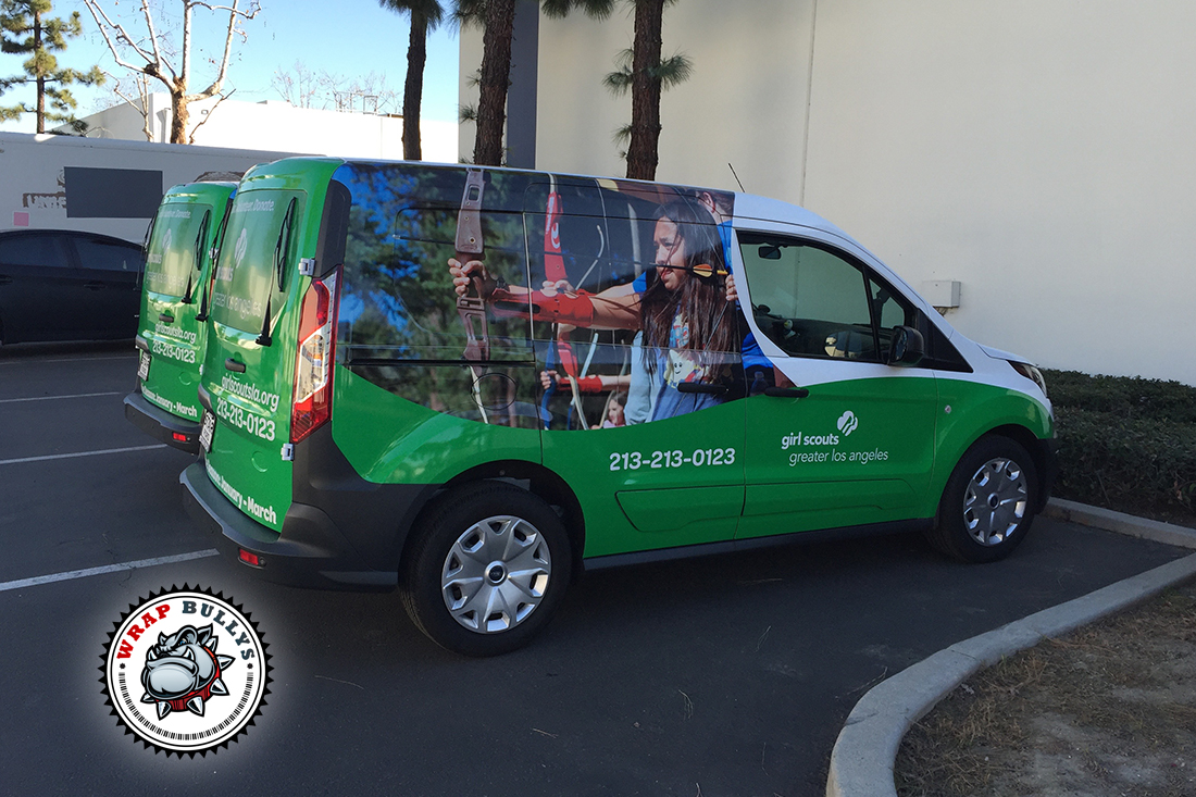 Girl Scout Ford Transit Connect Van Wrap Wrap Bullys