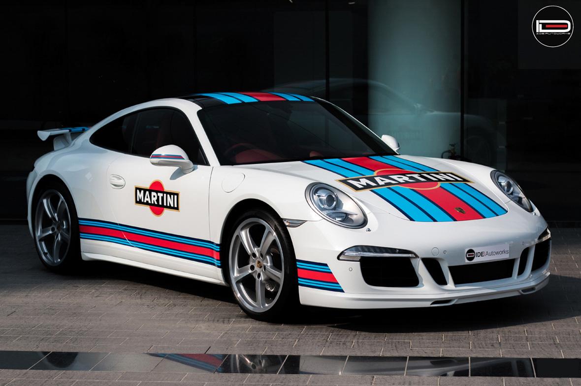 Martini Livery Porsche 911 Wrap Wrapfolio