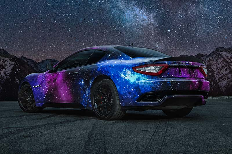 Maserati Galaxy Wrap Wrapfolio