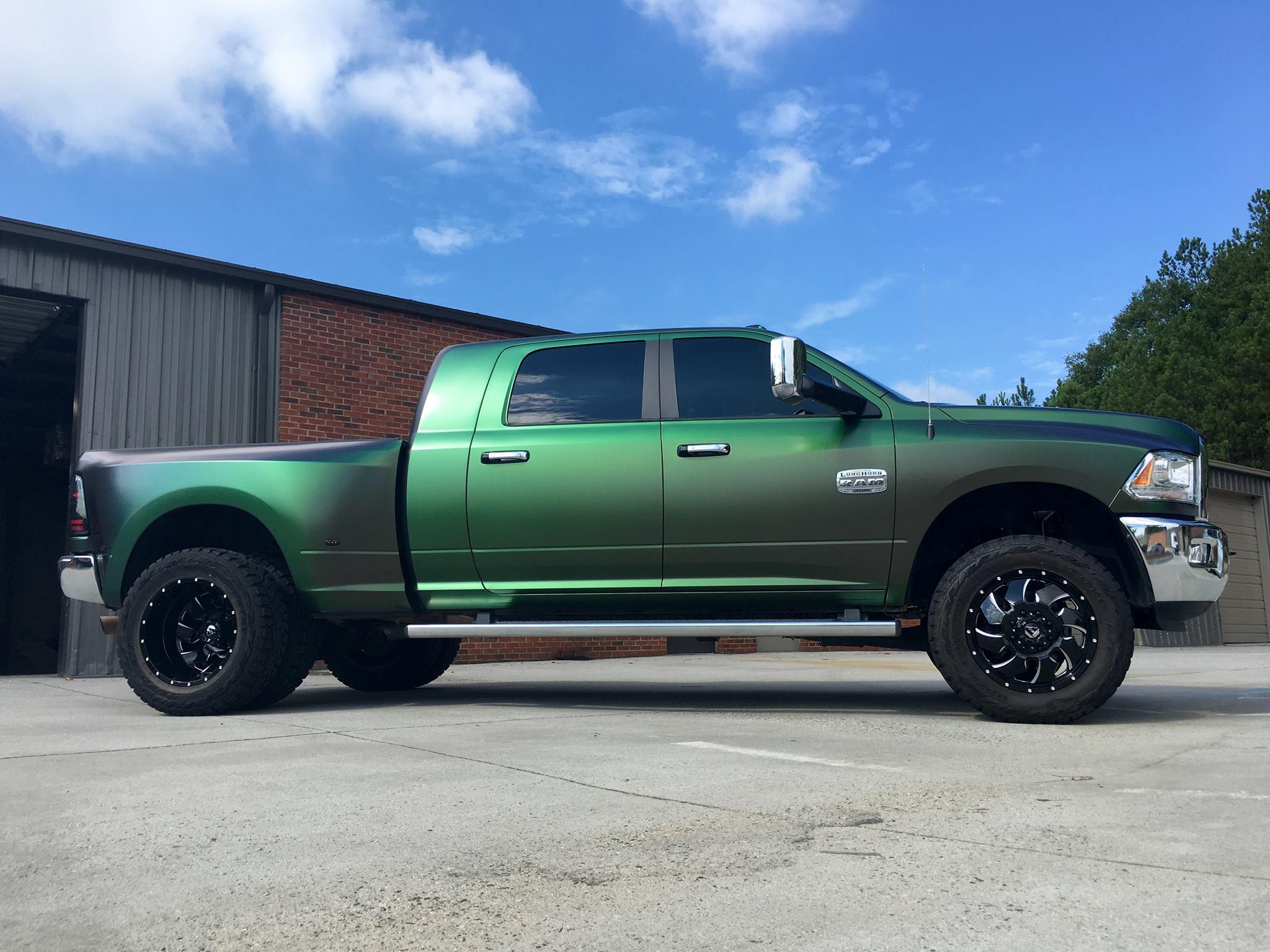 Urban Jungle Dodge Ram Dually Wrapfolio