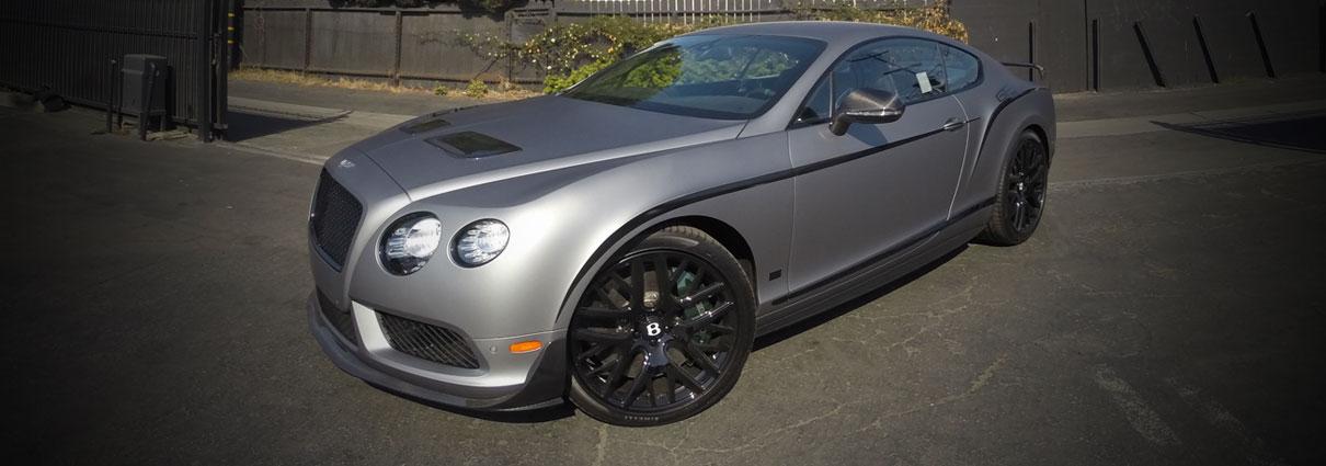 Frozen Grey Bentley Continental GT3R