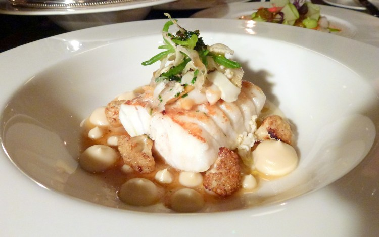 Cod, cauliflower, cockles at little social restaurant london