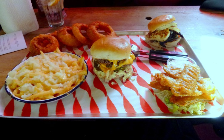 Burger and sides MEATliquor