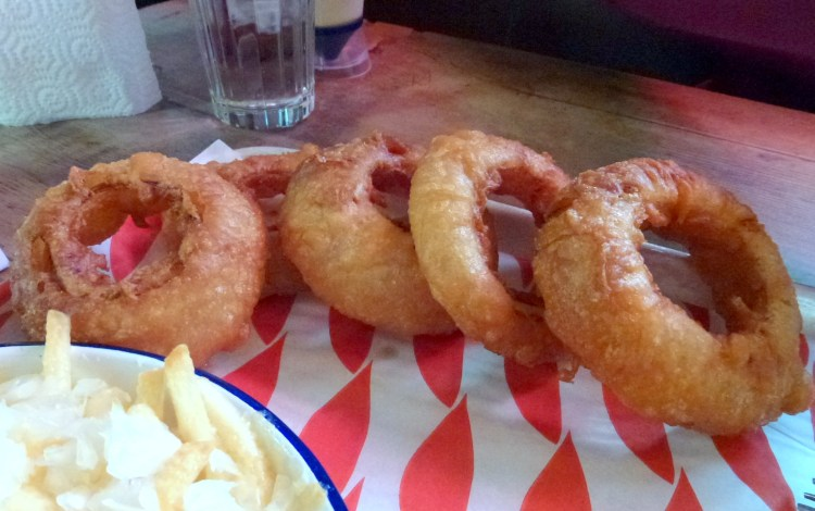 Onion rings MEATliquor