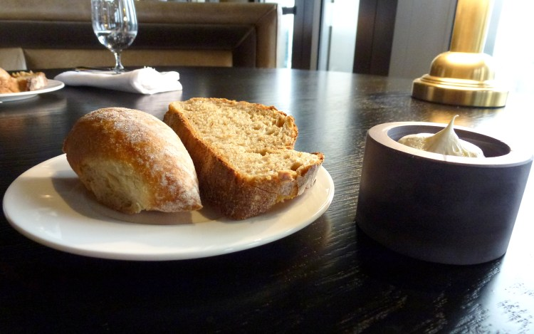 Bread and whipped salted butter at City Social
