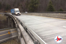 Project Complete on I-40 Near State Line